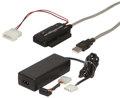 USB 2.0 SATA/IDE/CD/DVD-Adapter